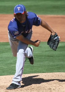 Yu Darvish in 2012 (photo by mjl816 on Flickr, cropped by UCinternational)
